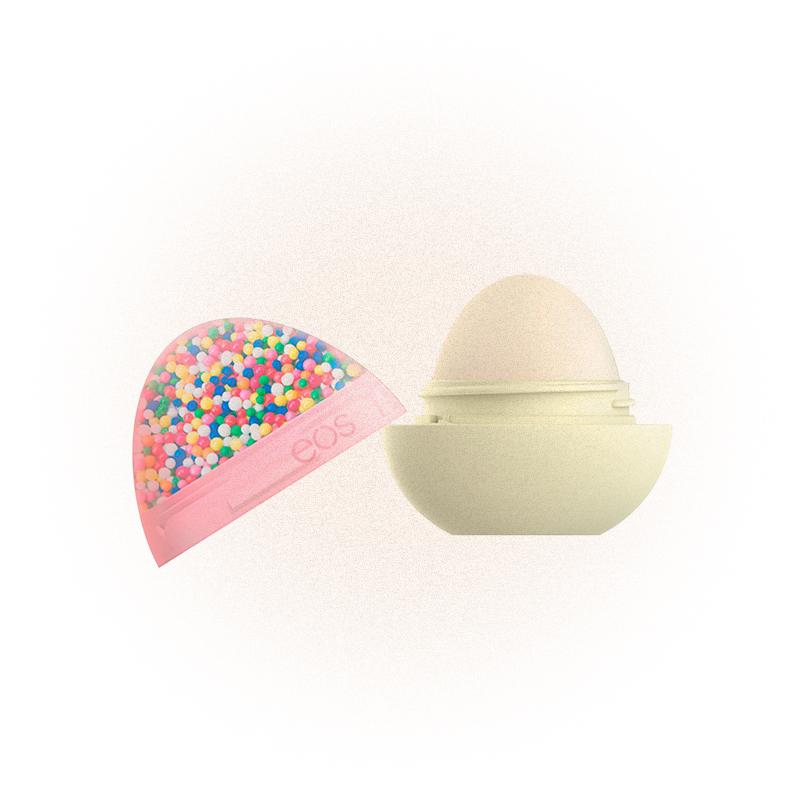 Бальзам для губ во славу пончиков Sprinkle Donut Super Soft Shea Lip Balm, EOS