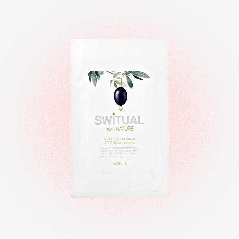 Маска для рук Switual nutro vital mask, Bandi