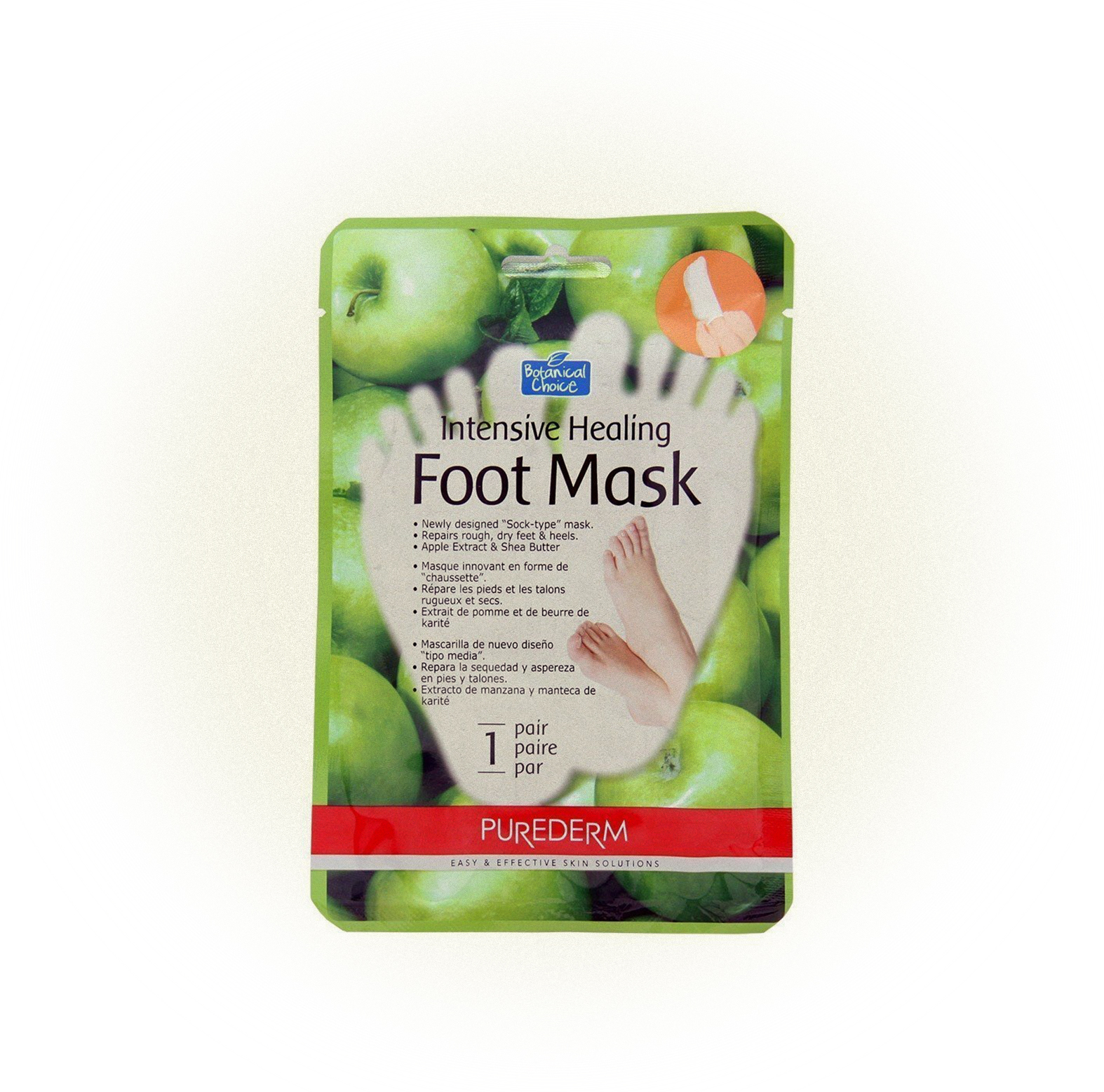 Восстанавливающая Intensive healing Foot Mask, Purederm