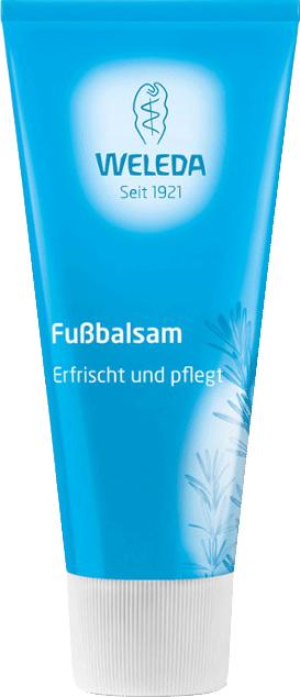 Тонизирующий Fussbalsam, Weleda