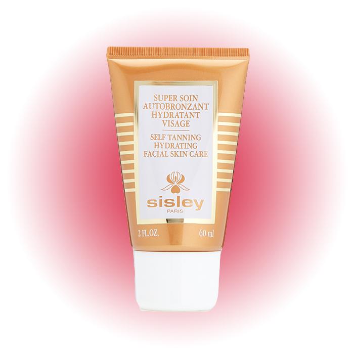 Увлажняющий суперкрем для лица с эффектом автозагара Self Tanning Facial Skincare, Sisley