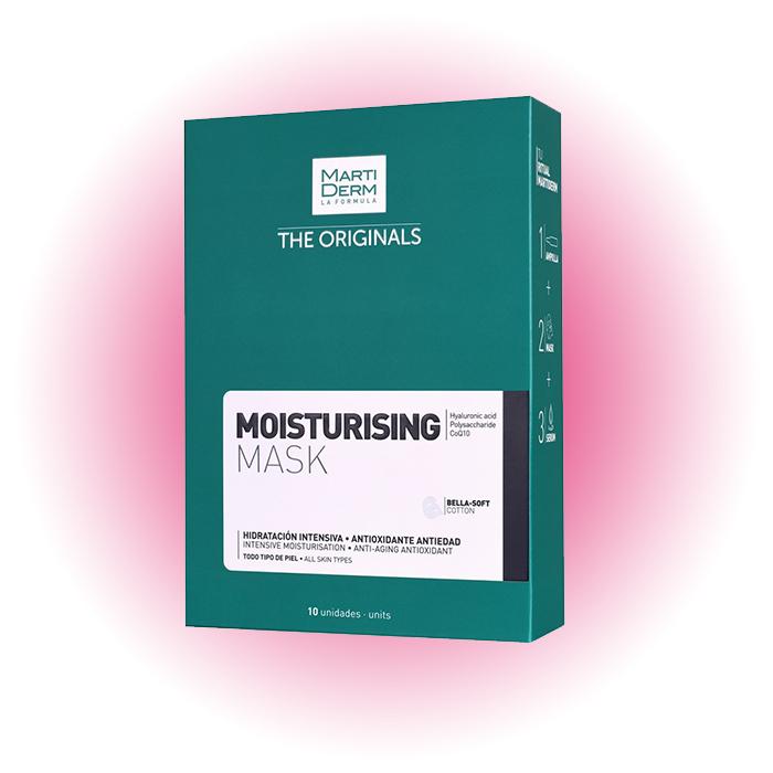 Увлажняющая тканевая маска, Martiderm