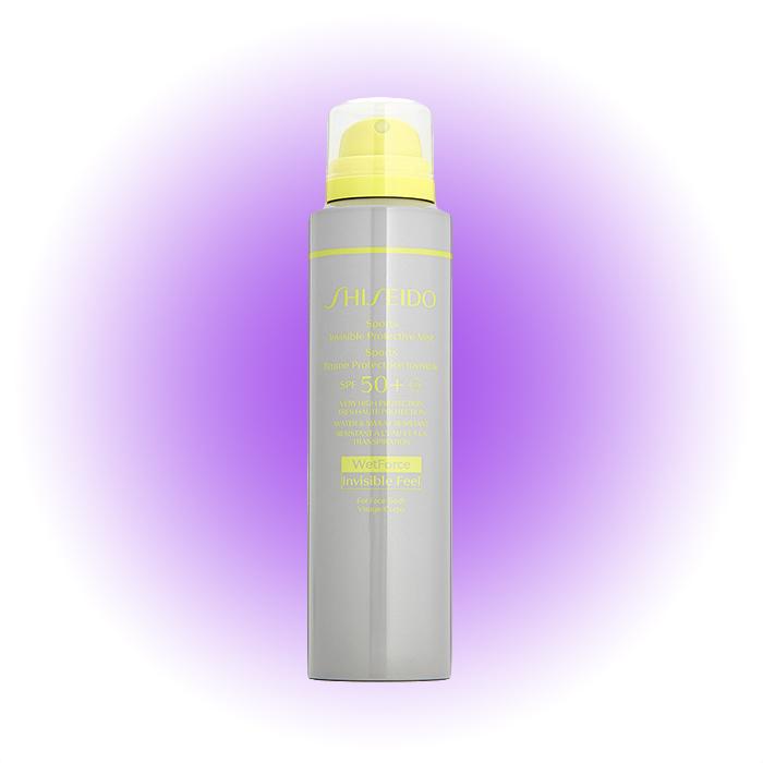 Невидимый солнцезащитный мист Sports, Shiseido SPF 50+