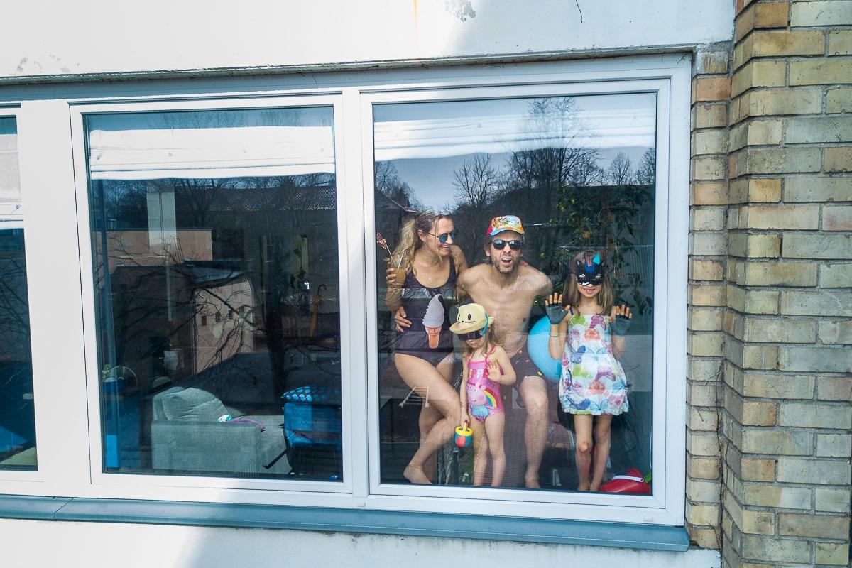 Домашние фотосессии в эпоху коронавируса