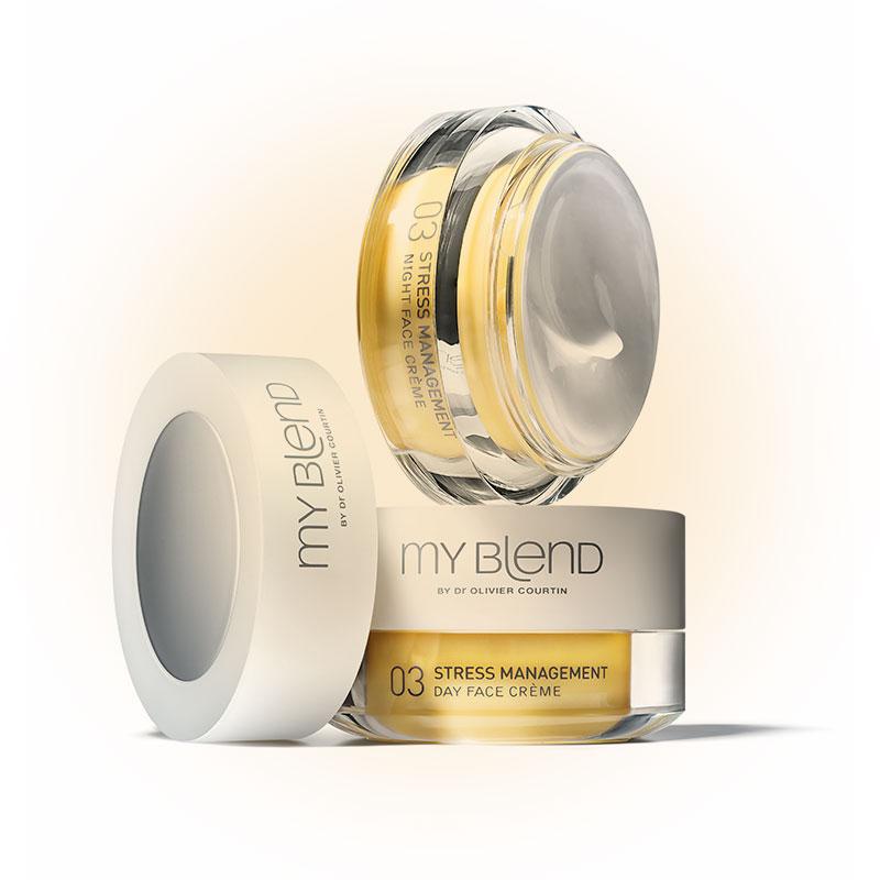 Дневной крем для комбинированной и жирной кожи 03 Stress Management, My Blend