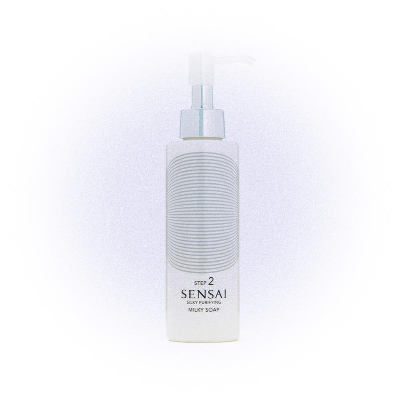 Мыльное молочко для лица Silky Purifying Milky Soap, Sensai