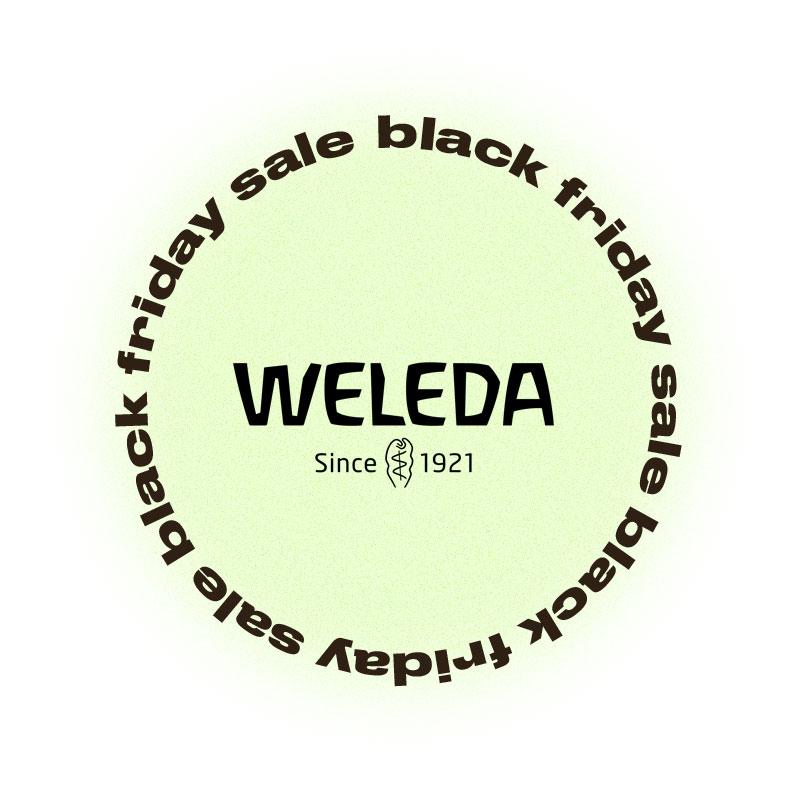 Черная пятница Weleda