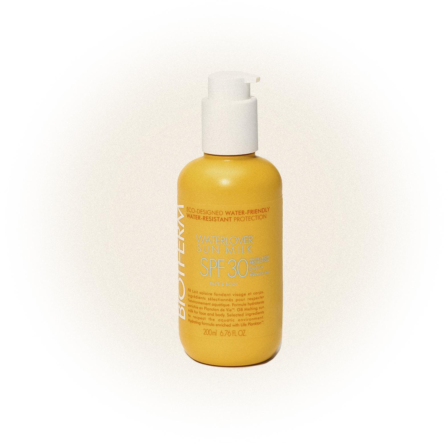 Waterlover Sun Milk SPF 30, UVA, Biotherm
