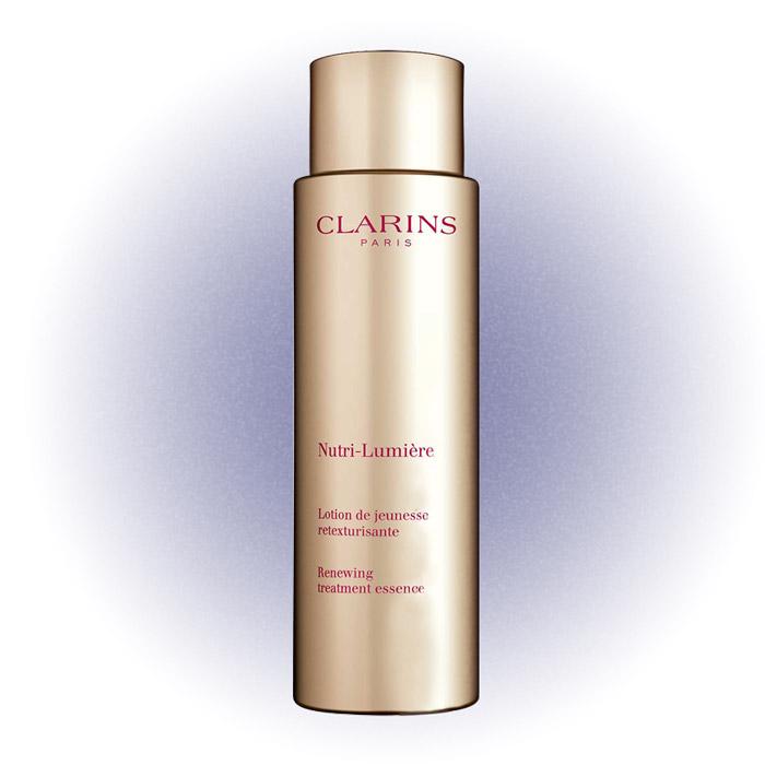 Питательный антивозрастной смягчающий флюид Nutri-Lumière, придающий сияние зрелой коже, Clarins