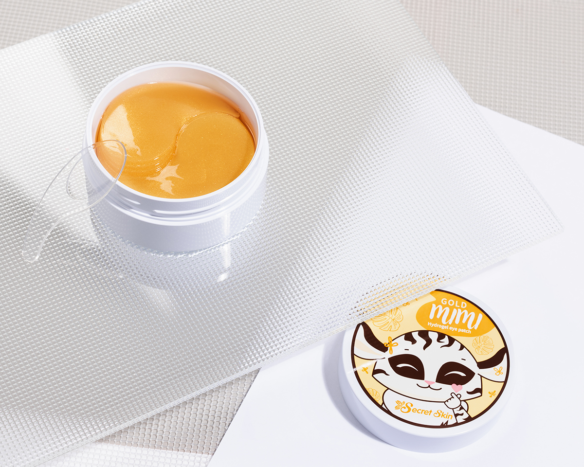Патчи с золотом Gold Mimi Hydrogel Eye Patch — против сухости кожи