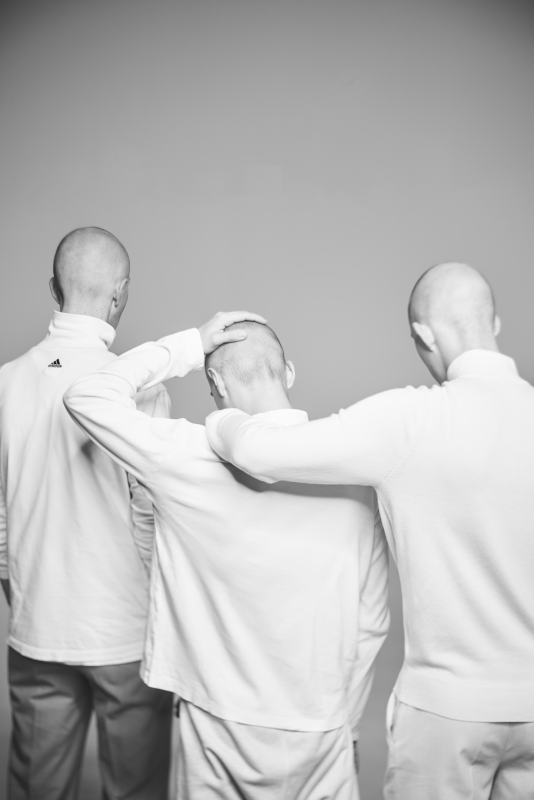 Мужчины с короткой стрижкой