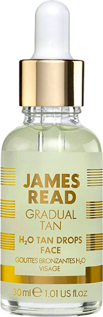 Капли-концентрат H2O Tan Drops Face, James Read