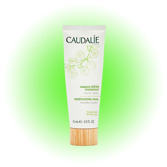 Увлажняющая маска-крем для лица для всех типов кожи Vinosource, Caudalie