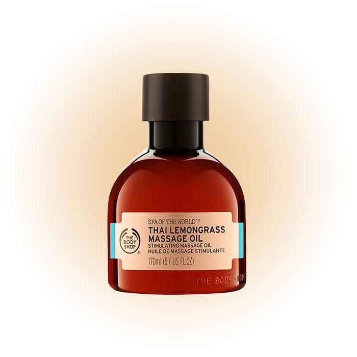 Массажное масло Spa of the World Thai Lemongrass, The Body Shop