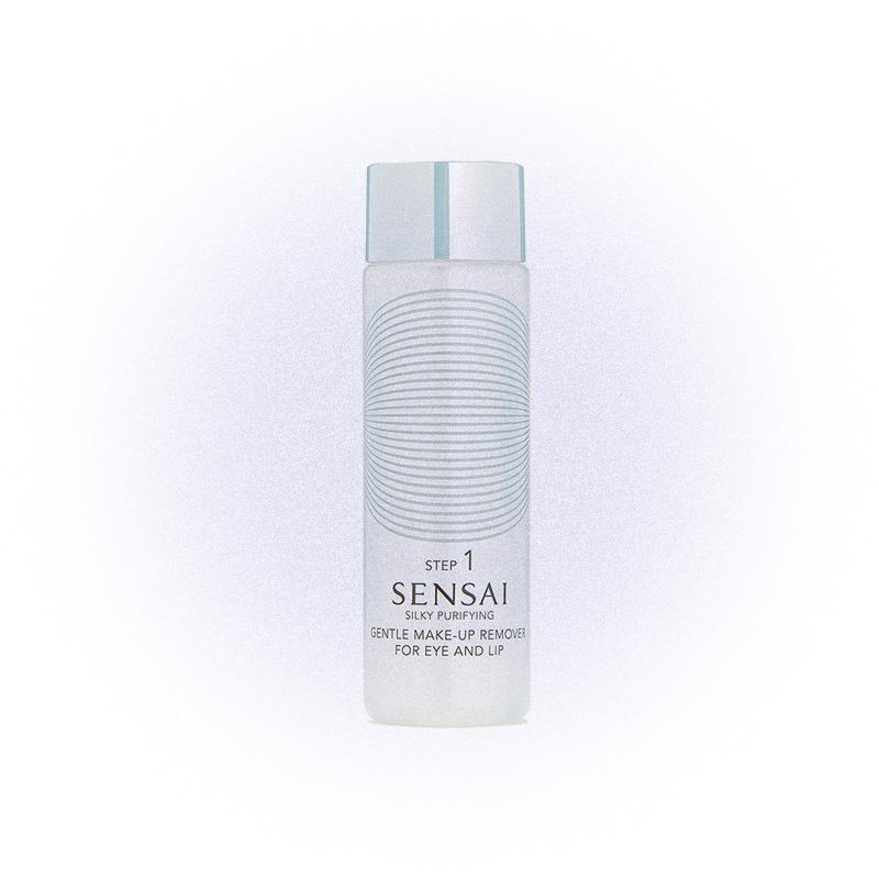 Средство для снятия макияжа с глаз и губ Silky Purifying Gentle Make-Up Remover For Eyes & Lips, Sensai