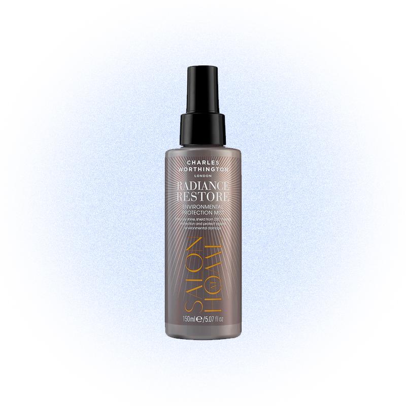 Спрей для волос с углем и защитой от UV, Charles Worthington