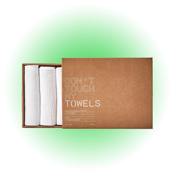 Муслиновые салфетки для очищения и отшелушивания, Don't Touch My Skin