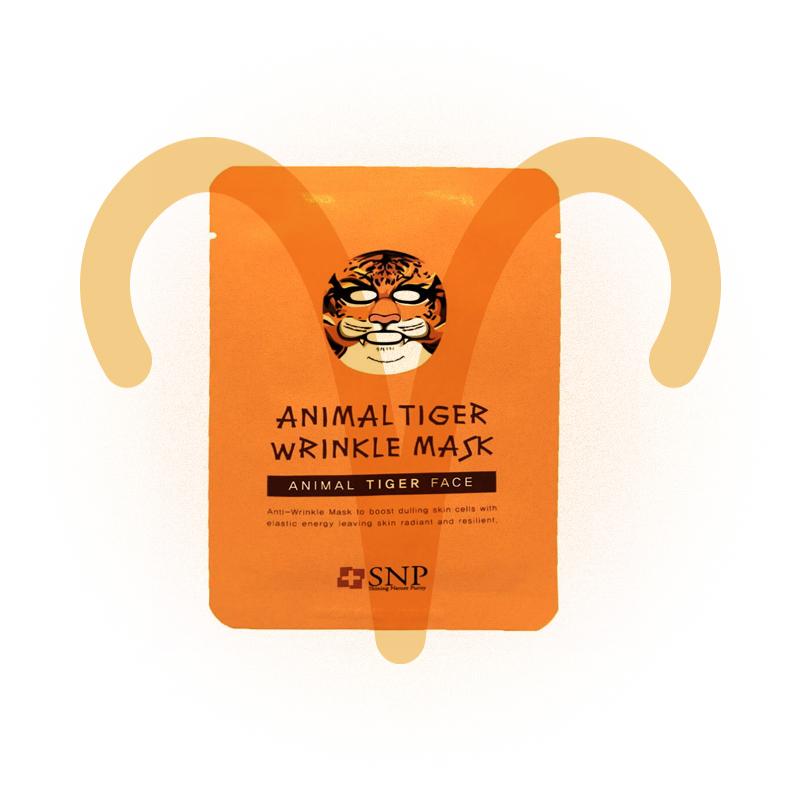 Маска для лица Animal Tiger Wrinkle Mask, SNP