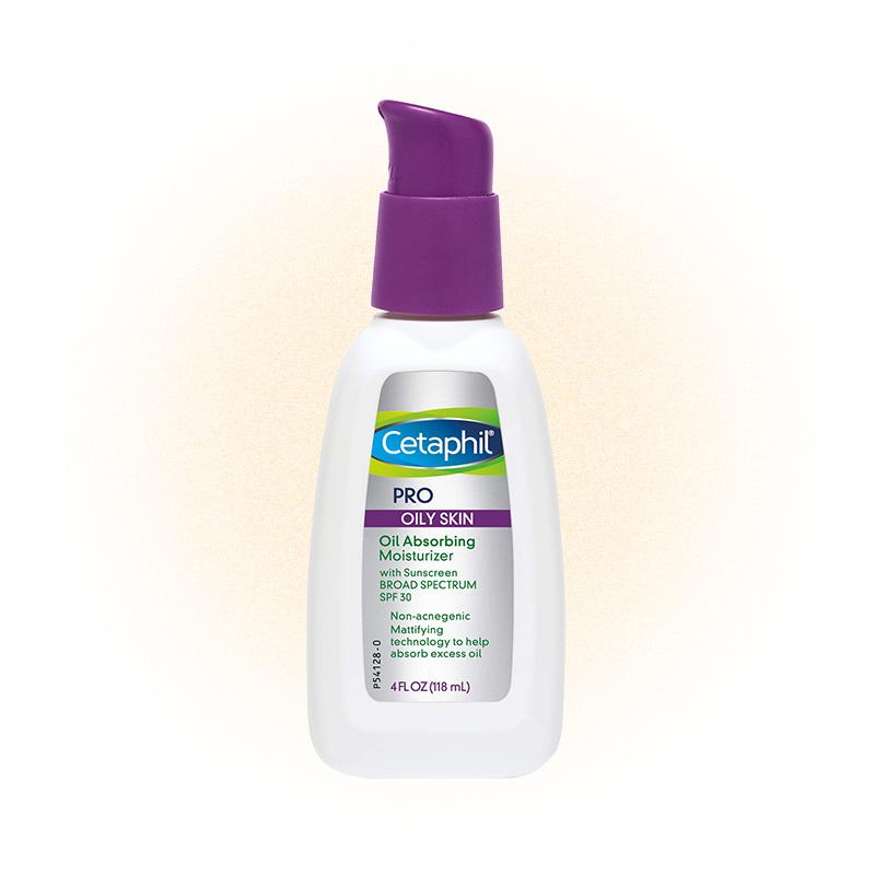 Oil absorbing moisturizer, Cetaphil PRO