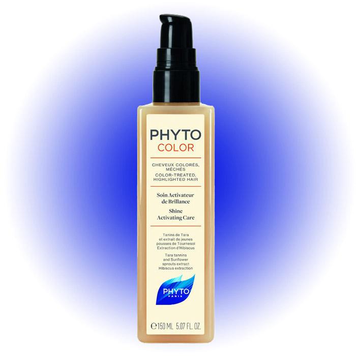 Уход для восстановления и сияния Phyto Color