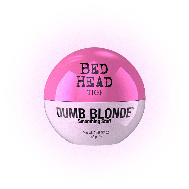 Текстурирующий крем для блеска волос Bed Head Dumb Blonde Smoothing Stuff, TIGI