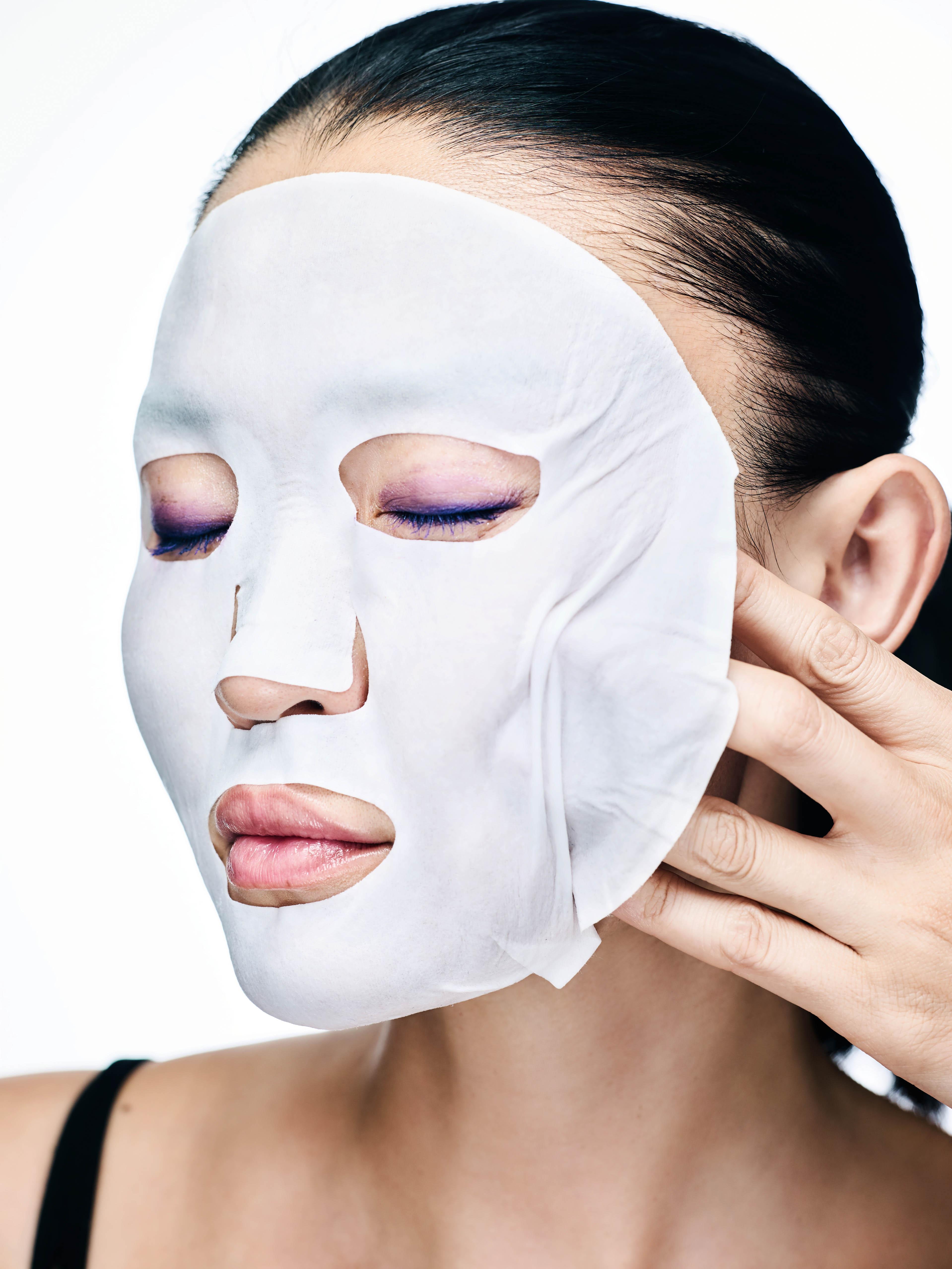 Тканевая маска с муцином улитки Snail Pure Essential Mask, Orthia