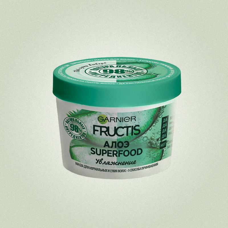 Маска для волос «Алоэ Superfood», Garnier