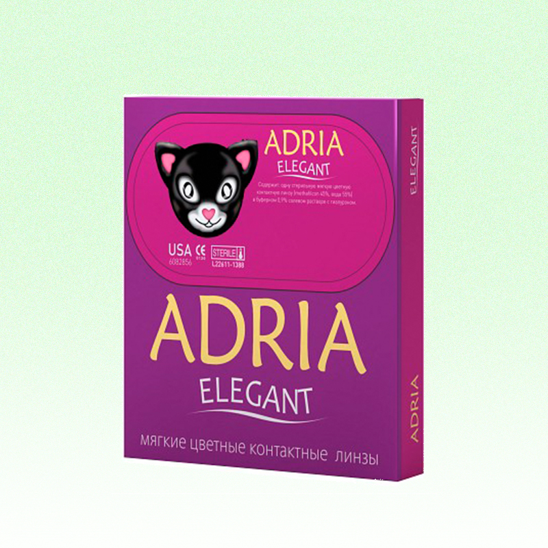 Линзы Adria Elegant Green