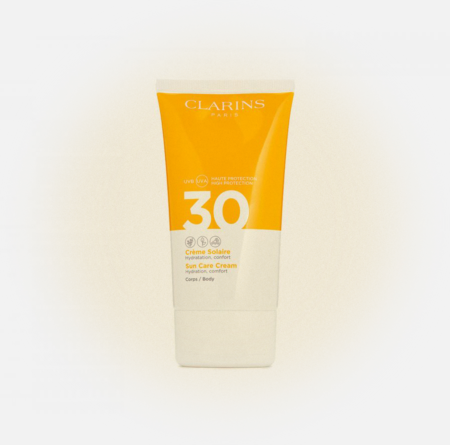 Солнцезащитный крем для тела SPF 30 Clarins Crème Solaire Corps