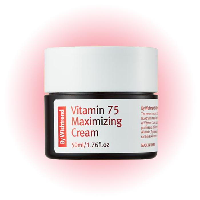 Крем для лица Vitamin 75 Maximizing Cream, By Wishtrend