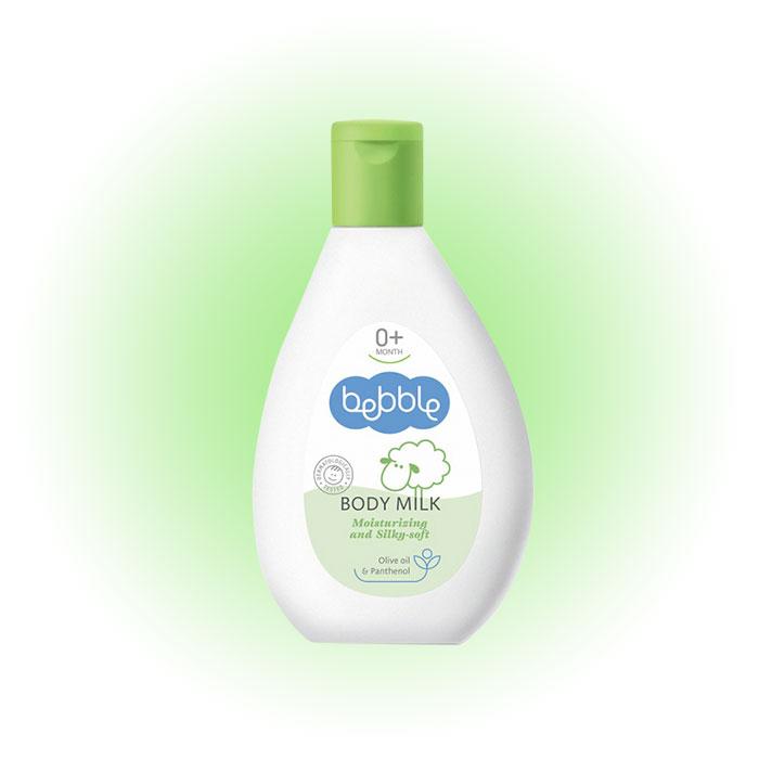 Детское увлажняющее молочко для тела 0+, Bebble