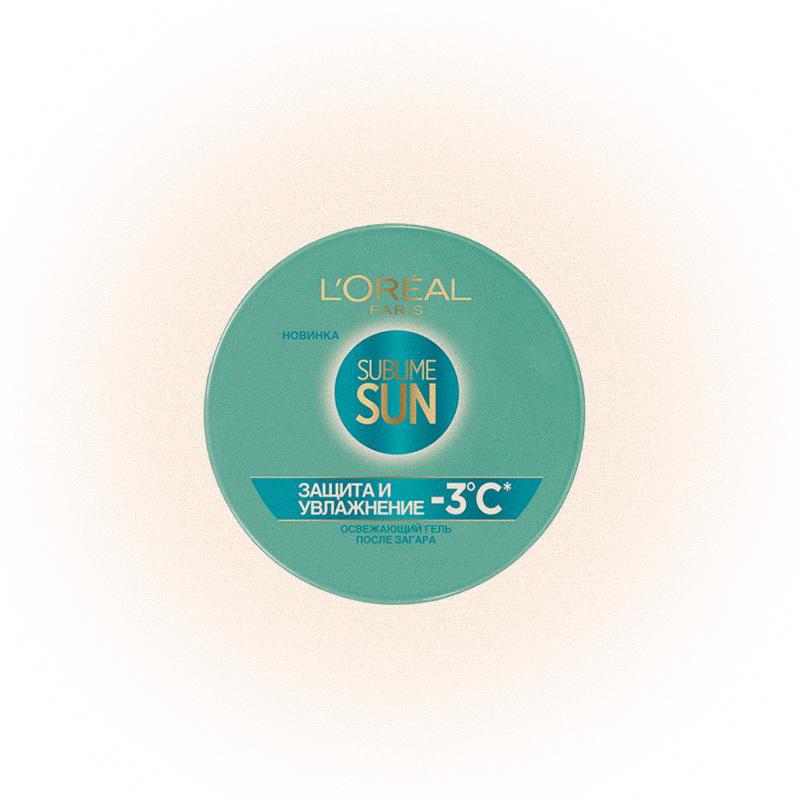 Освежающий гель для лица и тела после загара Sublime Sun, L'Oreal Paris