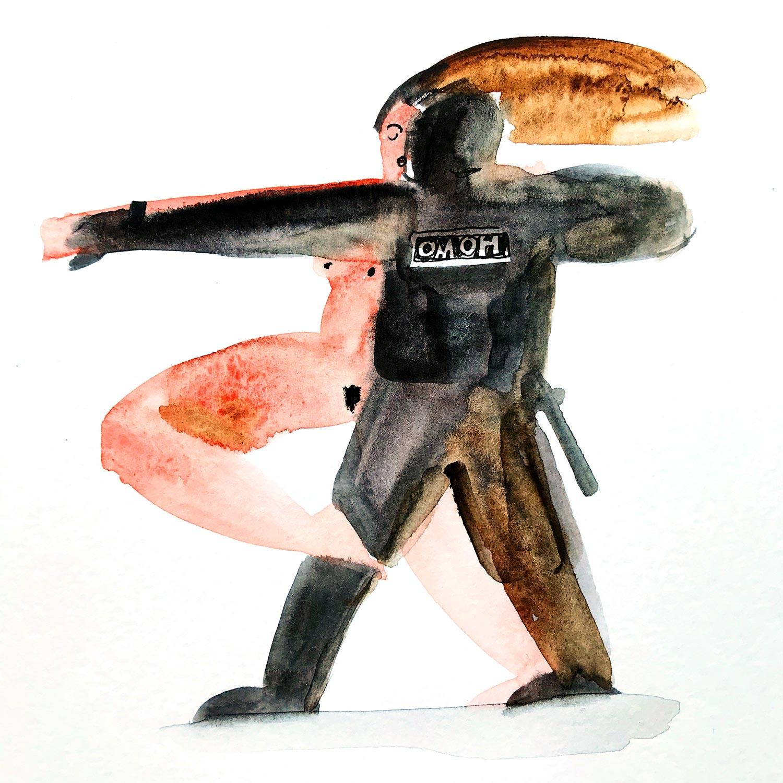 Иллюстрация Аси Киселевой