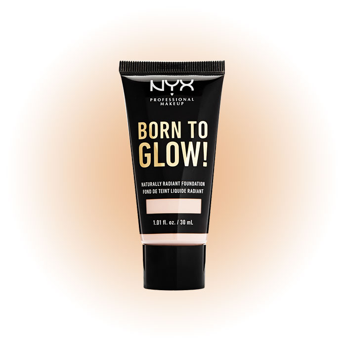 Born To Glow Naturally Radiant Foundation, NYX Professional Makeup