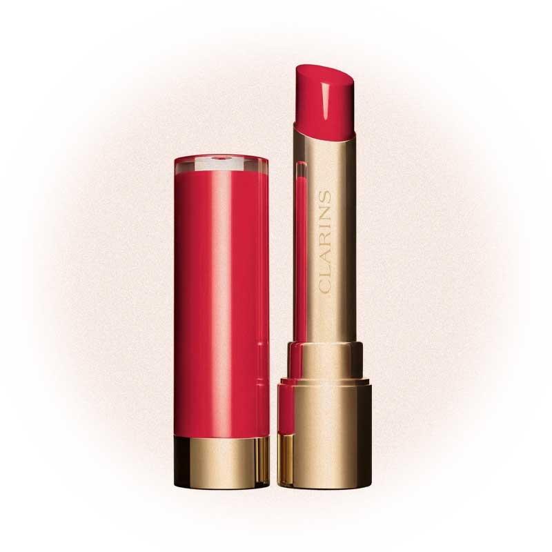 Питательная губная помада с лаковым покрытием Joli Rouge Lacquer, Clarins