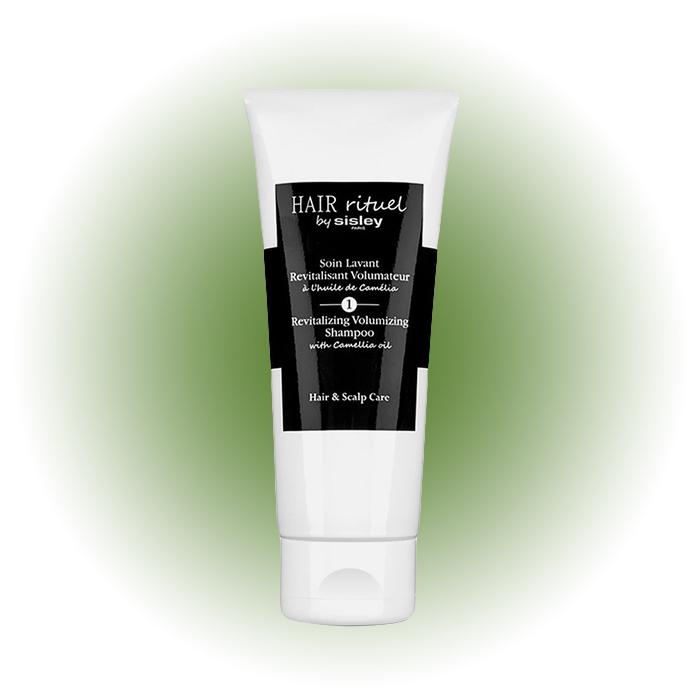 Тонизирующий шампунь для увеличения объема волос с маслом камелии, Sisley