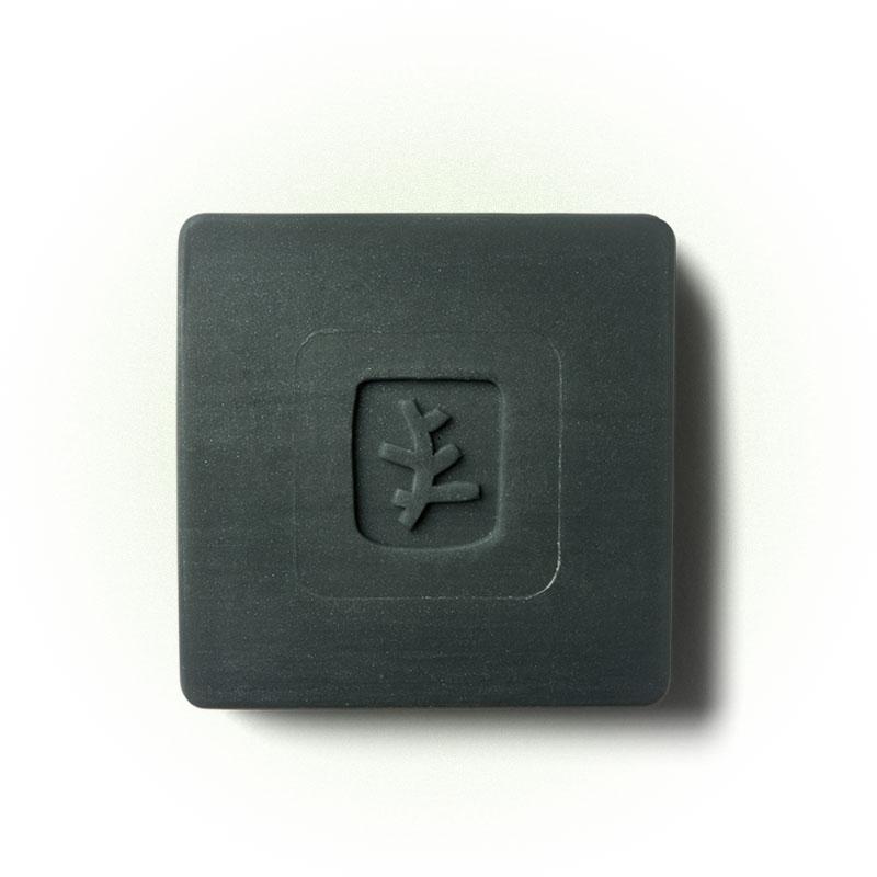 Черное мыло для лица с углем, Erborian